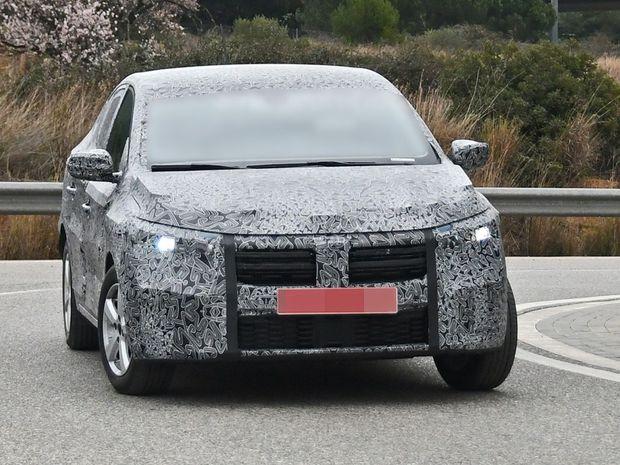 Dacia Logan  - špionáž 2020