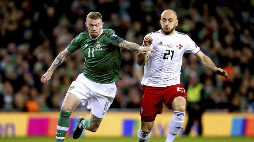 Írsko futbal McClean