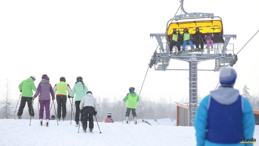 lyžovanie, tatranská lomnica