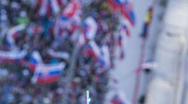 Slovinsko SR Lyžovanie SP slalom ženy 1.kolo