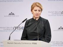 Čaputová v Mníchove hovorila o zodpovednosti lídrov pri ochrane právneho štátu