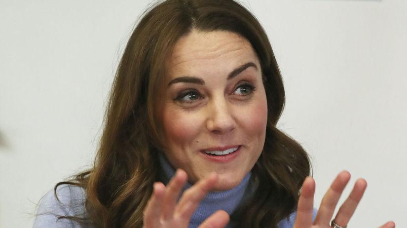 Vojvodkyňa Kate z Cambridge.