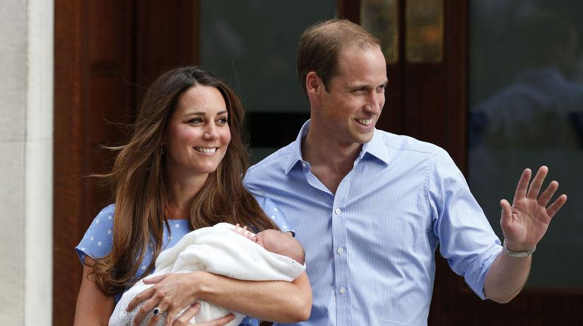 Záber z roku 2013: Princ William a vojvodkyňa...