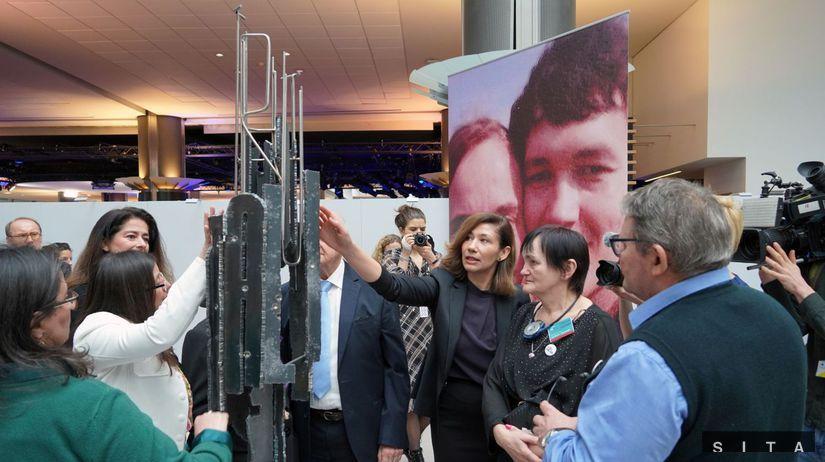 EP: Pamätník na poèes zavraždených novinárov