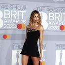 Modelka Abbey Clancy a jej dlhočizné nohy.