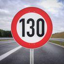 rychlost 130 km/h