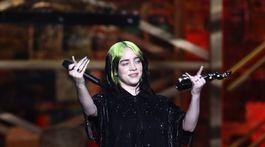 Speváčka Billie Eilish si odniesla cenu pre najlepšiu medzinárodnú umelkyňu.