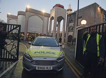 Britain Mosque Stabbing