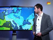 Na Slovensko sa valí studený front. Prinesie sneženie a silný vietor