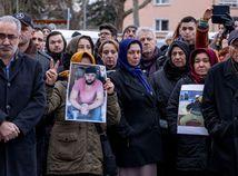 Nemecko Hanau streľba obete pochod protest