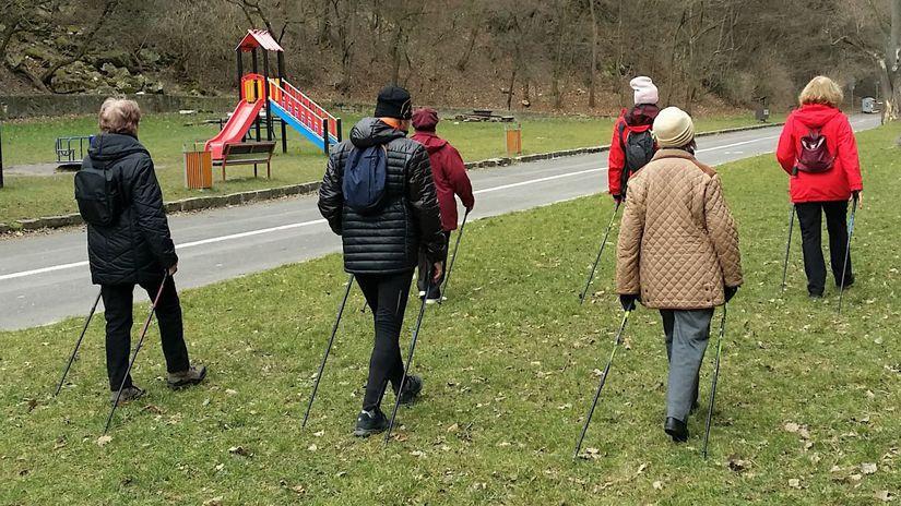 severská chôdza, nordic walking