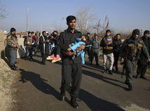 Afganistan kábul dievčatko útok