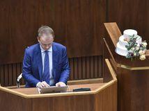 parlament beblavý NRSR Schôdza Mimoriadna