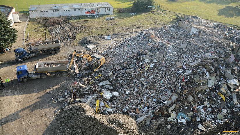vybuch plynu v Prešov, odpratavanie, demolacia...