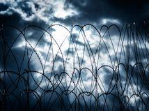 bariera, plot, zabrana, migrant, utecenec