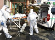 Kórea Čína koronavírus prípady nárast
