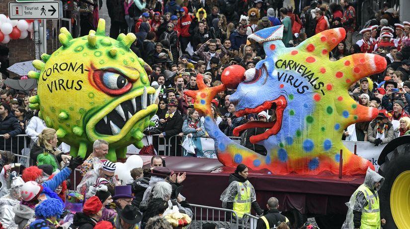 Nemecko, koronavírus, karneval