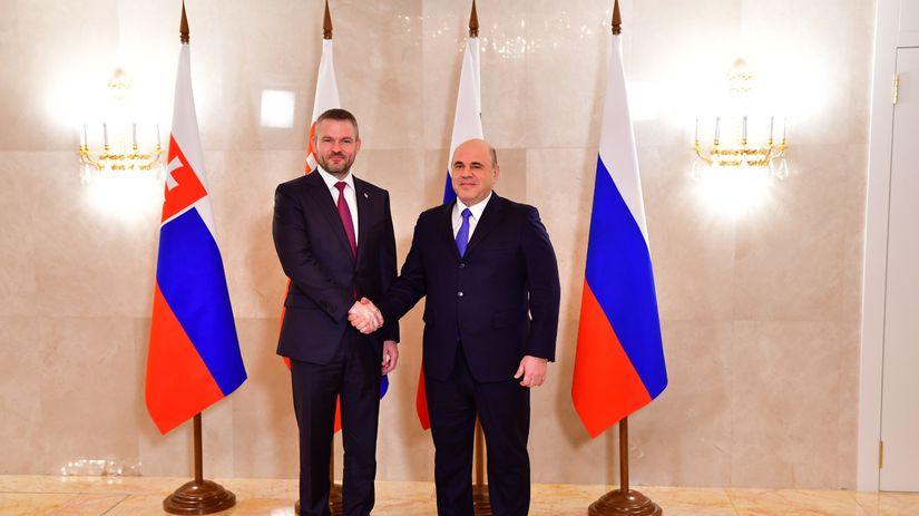 Rusko SR Mišustin Pellegrini stretnutie