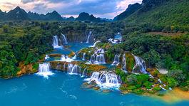 Ban Gioc Waterfalls  Vietnam DJI 0371 1 Panorama