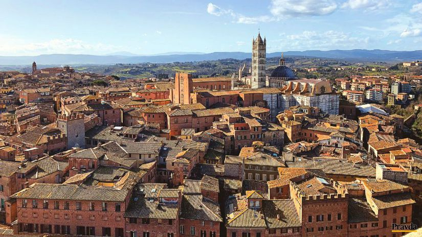 Siena, Taliansko, mesto