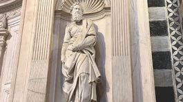 Siena, Taliansko, socha