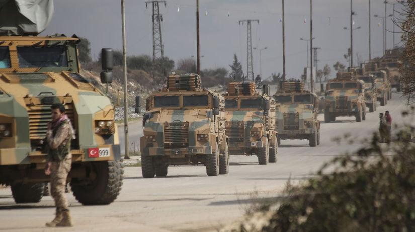 Sýria / Turecko / Idlib /