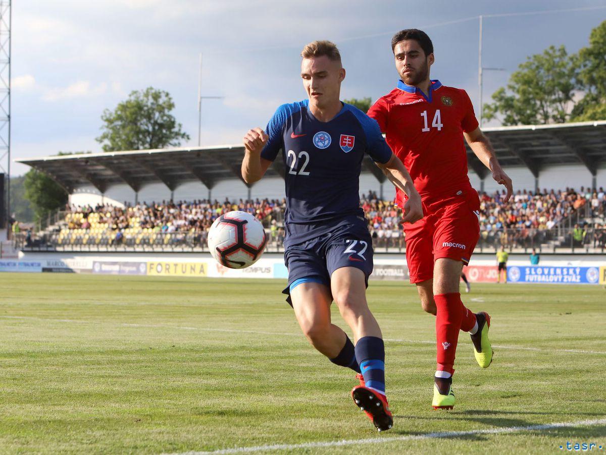 SR šport futbal Slovensko 21 - Arménsko 21...