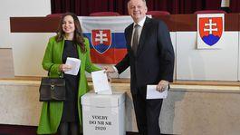 SR / voľby2020 / Kiska