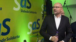 SR voľby2020 parlamentné voľby SaS BAX sulík