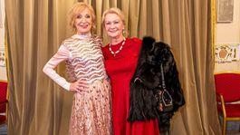 Dlhoročné kolegyne a kamarátky Marína Kráľovičová (vľavo) a Eva Mária Chalupová.