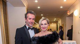Herečka Monika Hilmerová a jej partner Jaro Bekr.