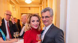 Herečka Zdena Studenková s partnerom Braňom Kostkom.
