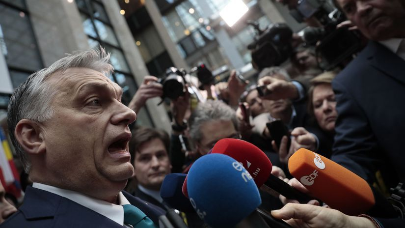 Orbán / Maďarsko /