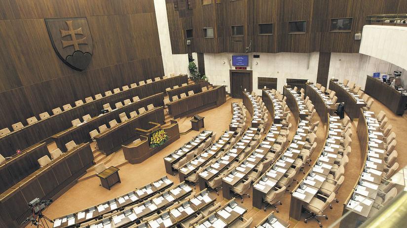 parlament, NR SR, sála