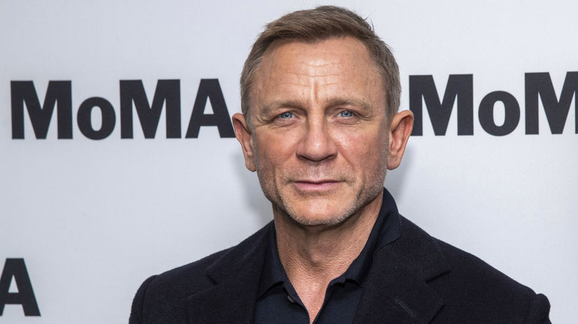 Herec Daniel Craig.