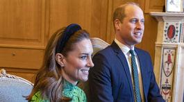 Princ William a jeho manželka Kate, vojvodkyňa z Cambridge počas návštevy u írskeho premiére Lea Varadkara.