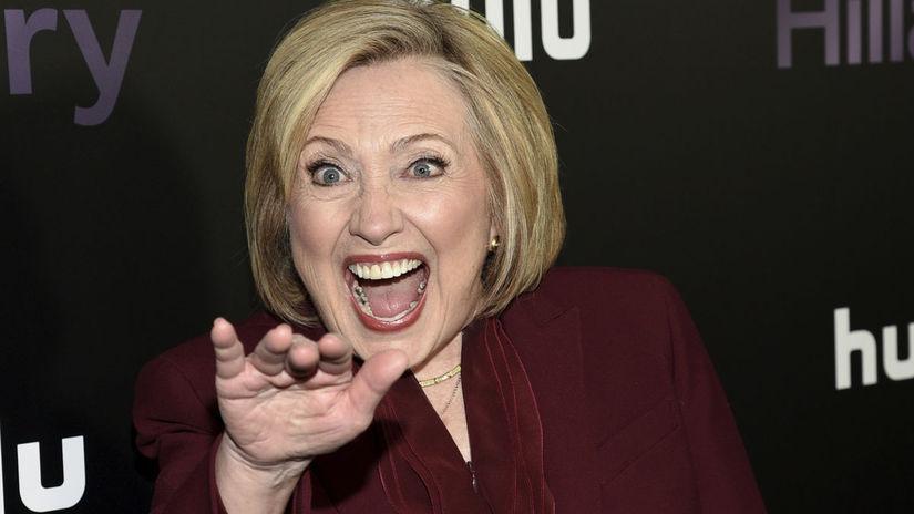 Bývalá štátna tajomníčka Hillary Clinton na...