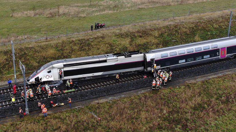Francúzsko / TGV / Vlak /