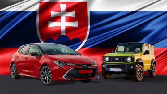 Auto roka na Slovensku má až dvoch víťazov! Zlato si delia Corolla a Jimny
