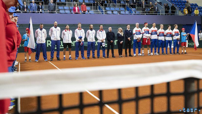 Slovensko, Česko, tenis