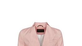 Dámske ľanové sako v pastelovom odtieni Pietro Filipi. Predáva sa za 319 eur.