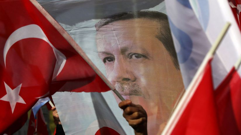 Recep Tayyip Erdogan / Baner /