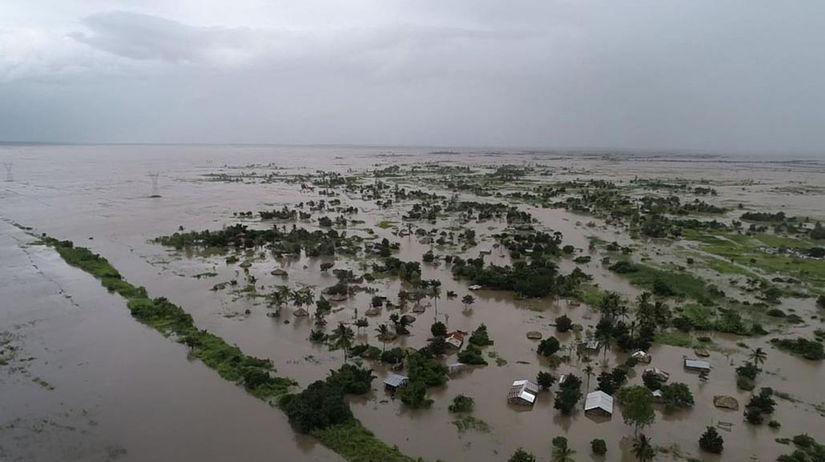 Mozambik, cyklón, Beira, Afrika, potopa