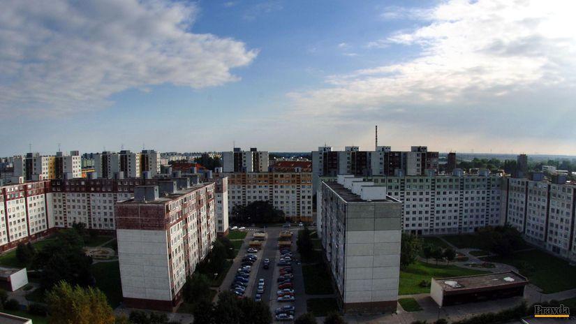 Reality, panelák, dom, Petržalka