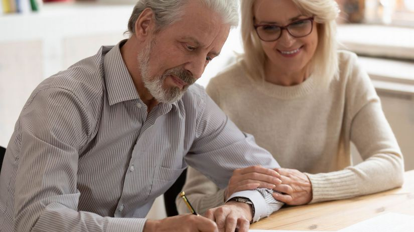 manželia, povzbudenie, láska, podpis, zmluva