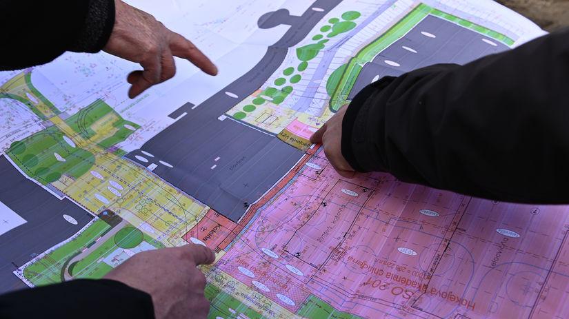 plán, stavba, pôdorys, mapa, parcela