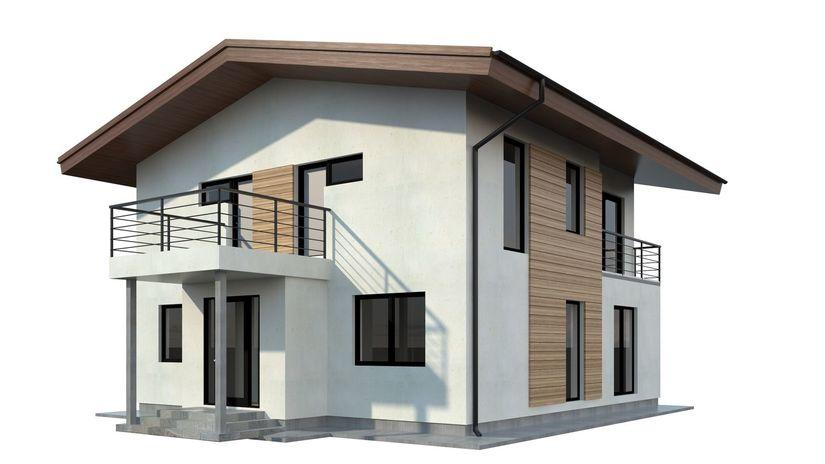 rodinný dom, model, bývanie