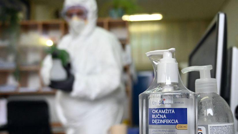 SR Michalovce koronavírus Arriva dezinfekcia...