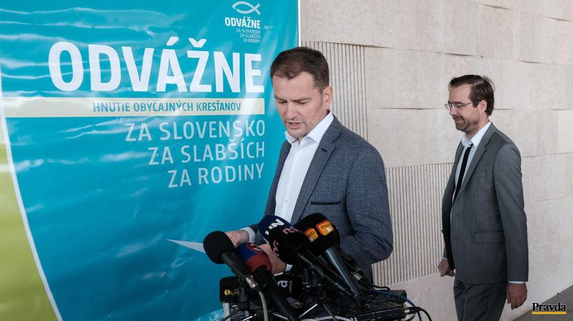 Igor Matovič, Marek Krajčí