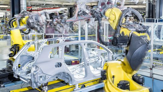 VW Bratislava - výroba